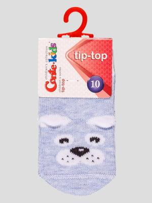 Шкарпетки світло-блакитні | 4975532