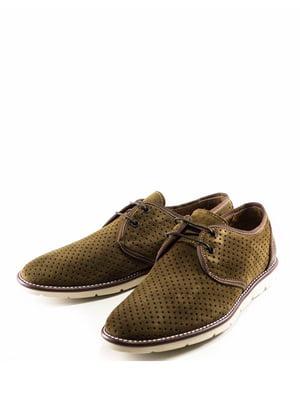 Туфли оливкового цвета   5026434