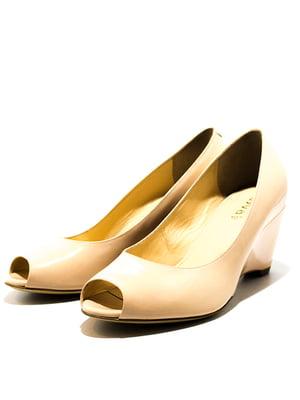 Туфлі бежеві | 5026664