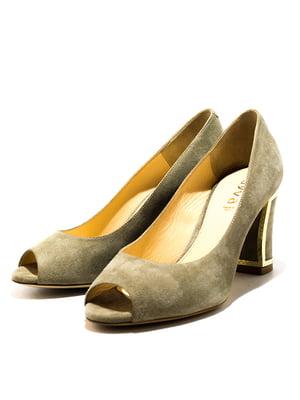 Туфлі світло-коричневі | 5026665