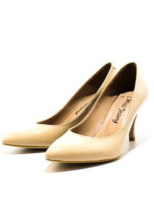Туфлі бежеві | 5026754
