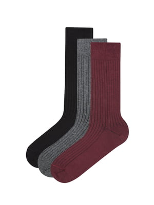 Набір шкарпеток (3 пари) | 4951839
