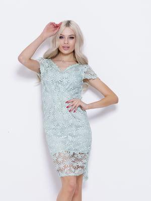 Сукня бірюзова | 5029539