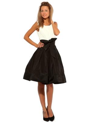 Платье двухцветное | 5023101