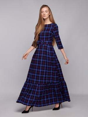 Платье в клетку | 5025261