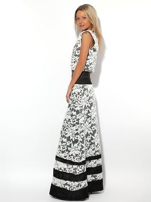 Платье двухцветное | 5025278