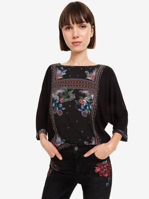 Блуза черная | 5030357