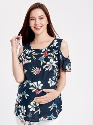 Блуза в квітковий принт | 5033536