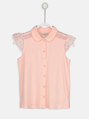 Блуза розовая   5033950