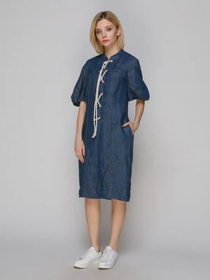 Платье темно-синее | 4982700