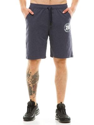 Шорти кольору джинс | 4986355