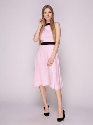 Платье нежно-розовое | 5029857