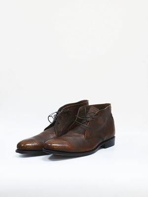 Черевики темно-коричневі - Prime Shoes - 4859977