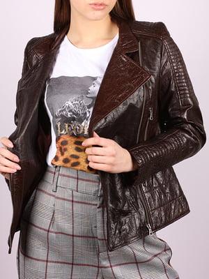 Куртка темно-коричневая   5034385