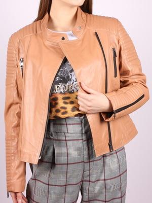 Куртка персикового цвета   5034390