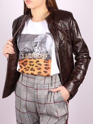 Куртка темно-коричневая   5034398