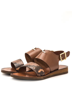 Босоножки коричневые | 5026840