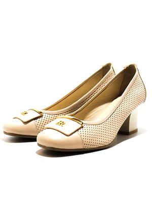 Туфлі бежеві | 5026852