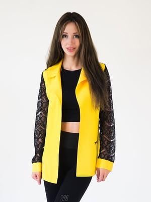 Жакет желтый | 5035084