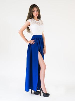 Платье двухцветное | 5035099