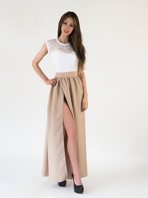 Платье двухцветное | 5035100