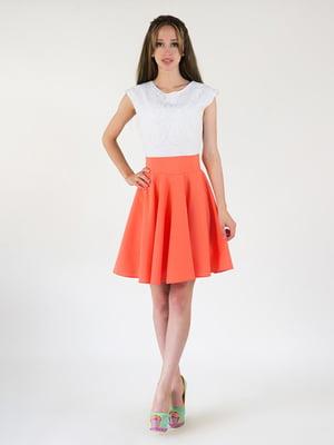 Платье двухцветное | 5035109