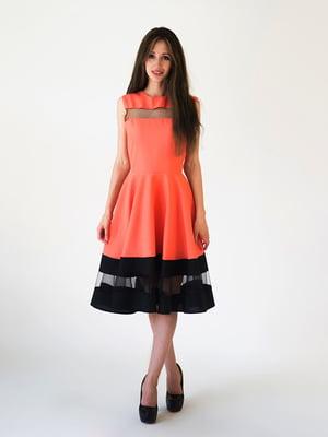 Платье коралловое | 5035162