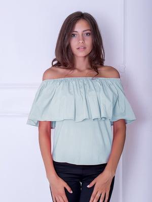 Блуза голубая | 5035222