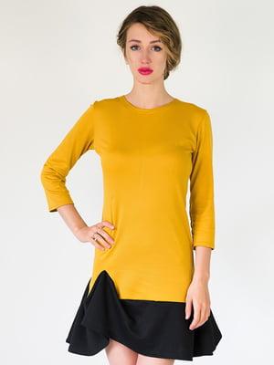 Платье горчичного цвета | 5035339