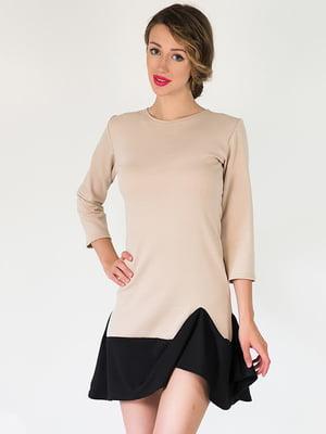 Платье бежевое | 5035342