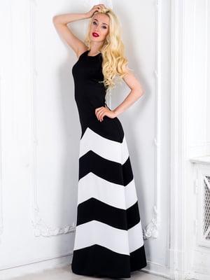 Платье черно-белое | 5035357