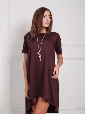 Платье бордовое | 5035482