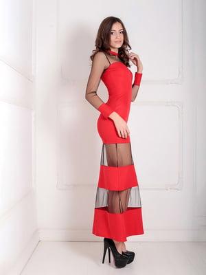 Платье красное | 5035506