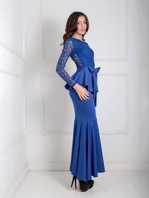 Платье синее | 5035520