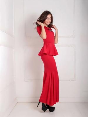 Платье красное | 5035545