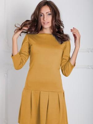 Сукня гірчичного кольору | 5035635