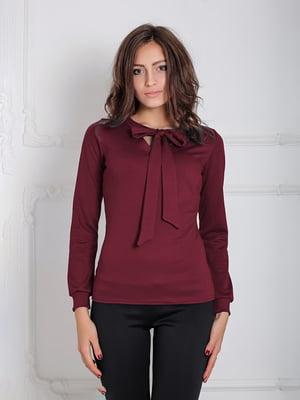 Блуза бордовая   5035648