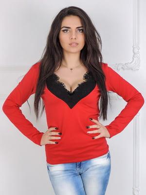 Блуза красная   5035919