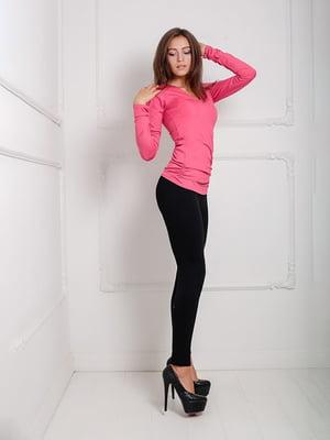 Лонгслив розовый   5036015