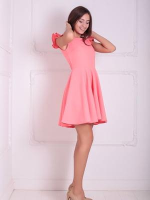 Платье коралловое | 5036050