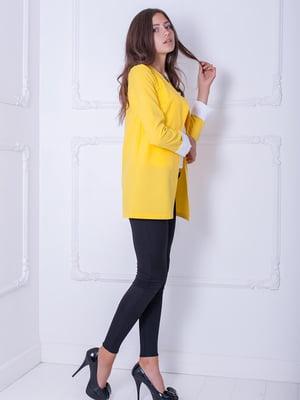 Жакет жовтий | 5036279