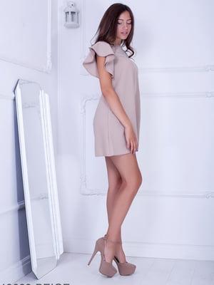 Платье бежевое | 5036285