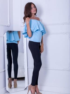 Блуза голубая   5036303
