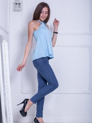 Блуза голубая | 5036312