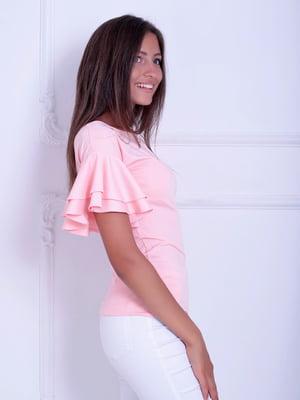 Блуза розовая   5036481