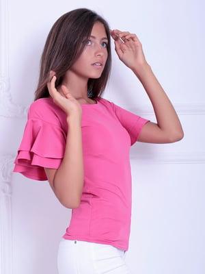 Блуза розовая   5036482