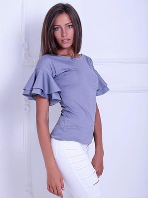 Блуза серая | 5036485