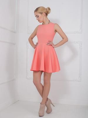 Платье коралловое | 5036573