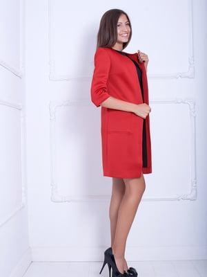Кардиган червоний | 5036633