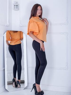 Блуза оранжевая | 5036645